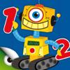 Roboter & Zahlen - Spiele um Zahlen Lernen Kinder