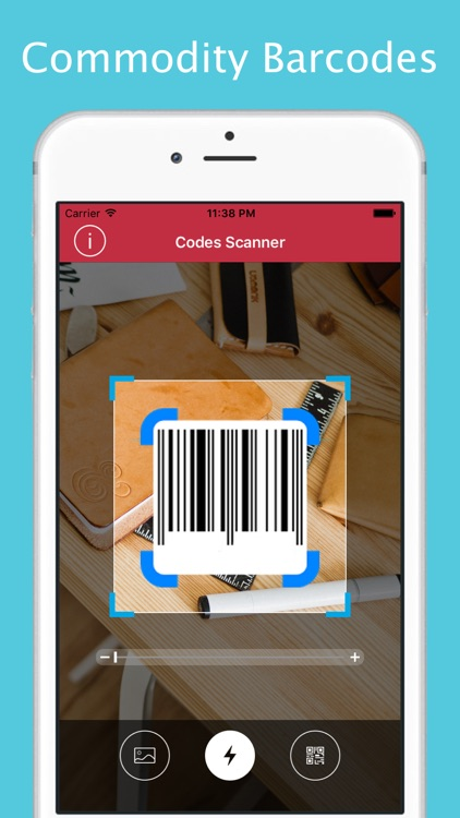 QR Codes Reader and Barcode Scanner