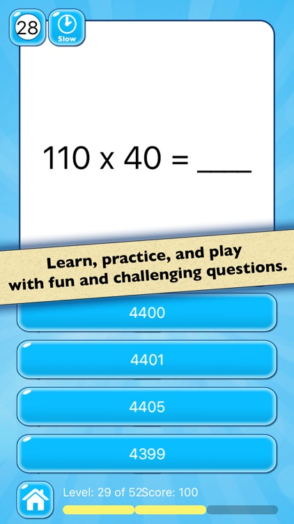 Mental Math Test — Multiplication and Division by Always Icecream ...