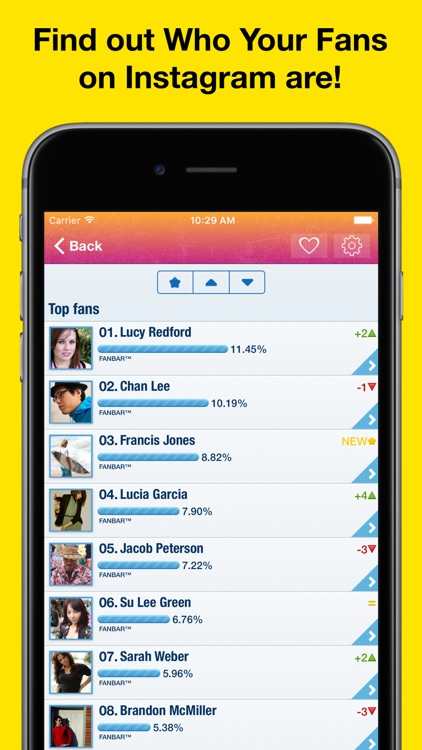 MyTopFans Pro for Instagram - Track followers