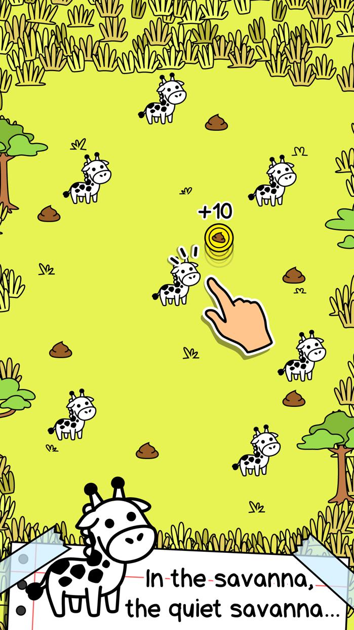 Giraffe Evolution | Clicker Game of the Mutant Giraffes Screenshot