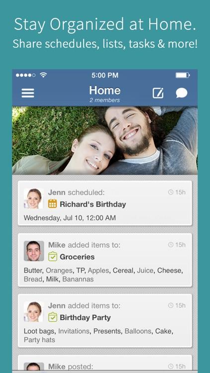 Hub Family Organizer: Shared Calendar & Todo Lists screenshot-0