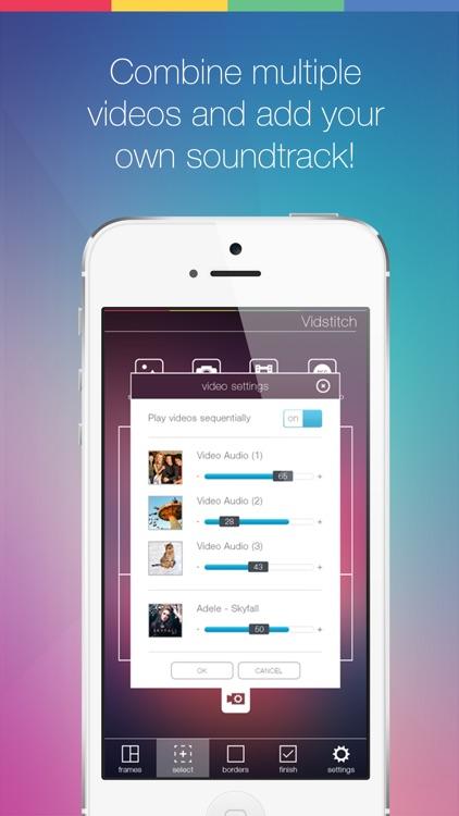 Vidstitch Pro for Instagram screenshot-4