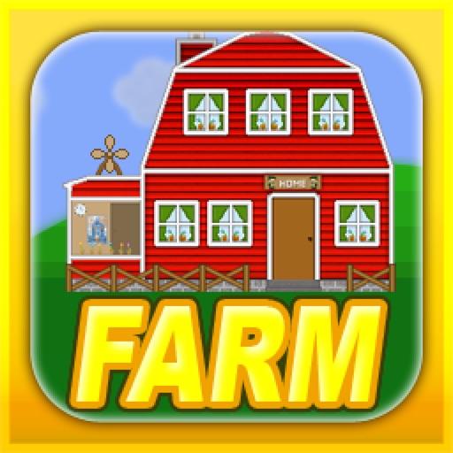 Mega Farmer - 2d sandbox farming adventure simulator with corn harvest and vegetable