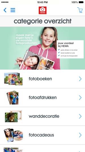 HEMA fotoservice in de App Store