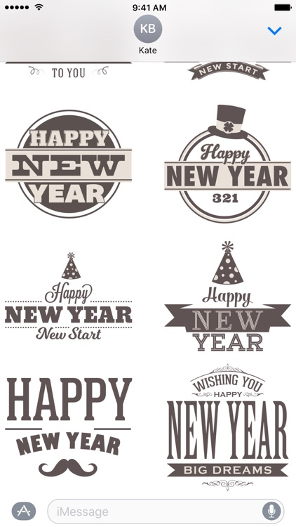 New Year's Eve - Stickers screenshot-3