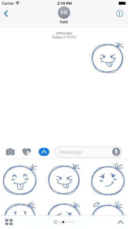 Sketchmoji - Kawaii Emoji Stickers