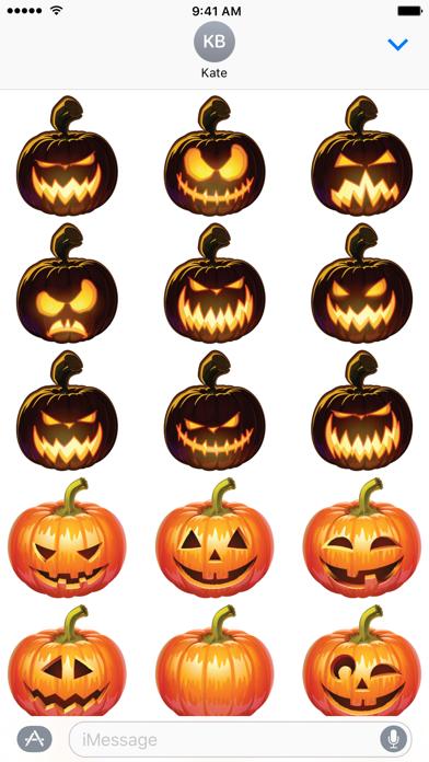 Pumpkin Emoji Stickers
