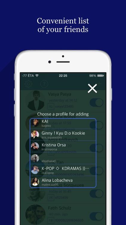 Netwa - spy for Whatsapp, Telegram, VK screenshot-4