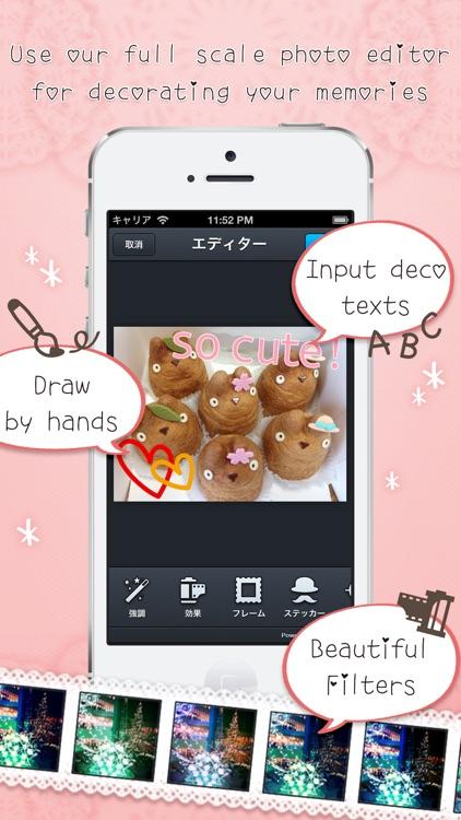 Girls Album  -  A cute album app for girls screenshot-4