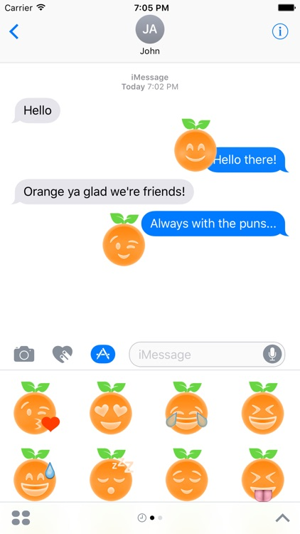 Orange Ya Glad?