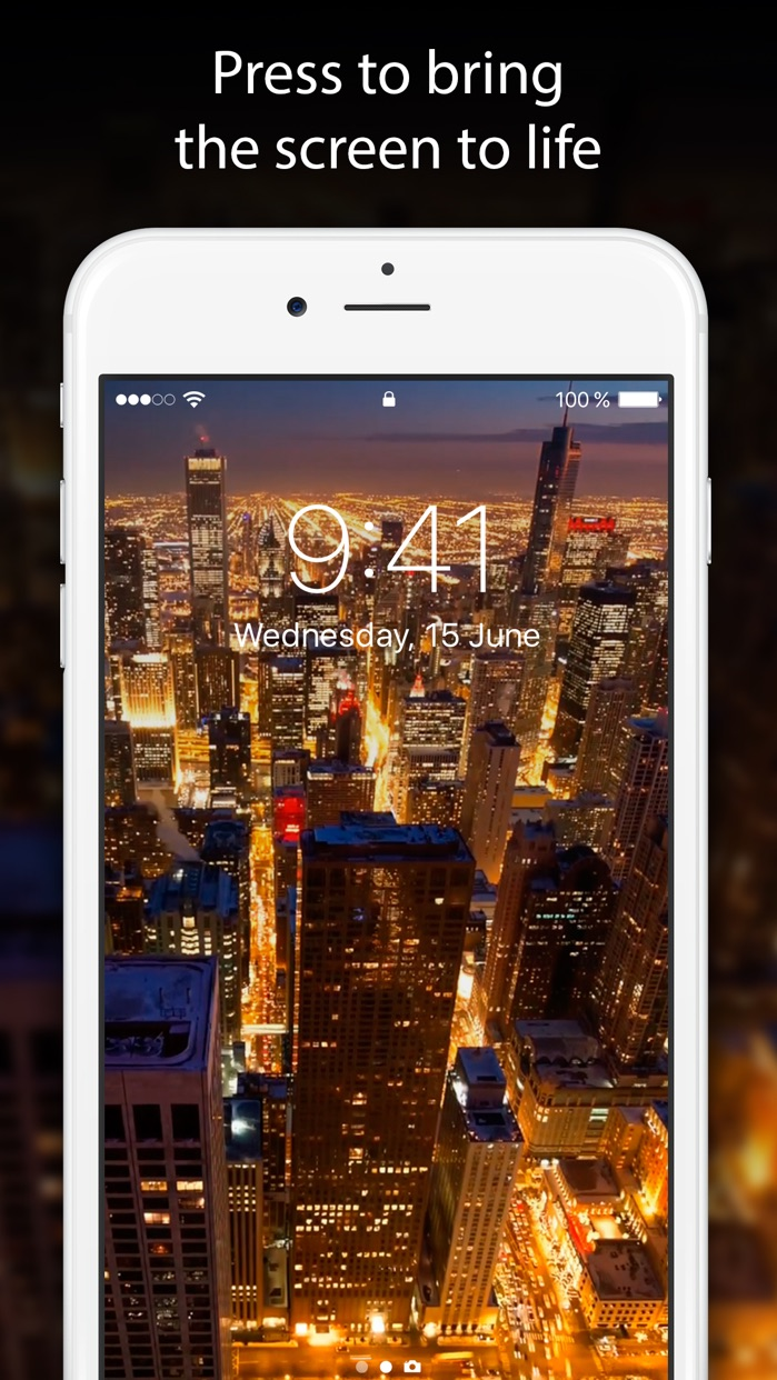 Live Wallpapers and Themes Screenshot