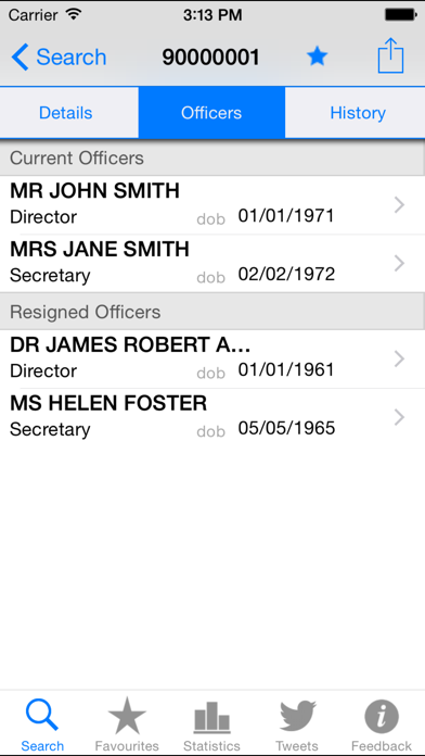 Companies House screenshot four