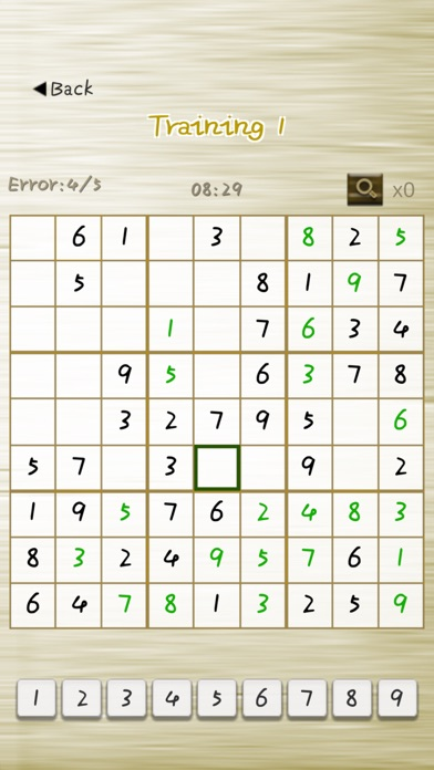 Sudoku Free - word puzzle game screenshot one