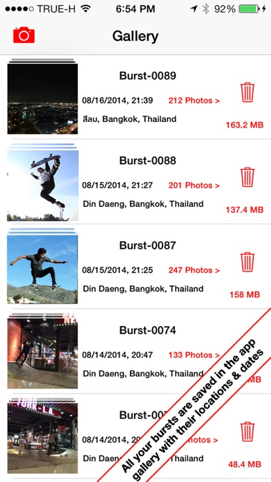 Burst HD - Super Burst Camera Screenshots