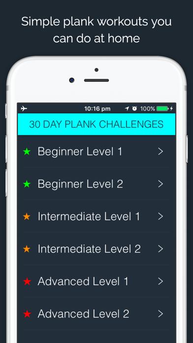 30 Day - Plank Challengeのおすすめ画像1