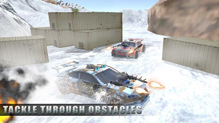 Buggy Death Racing Car Driver: Winter Rally Race screenshot-4