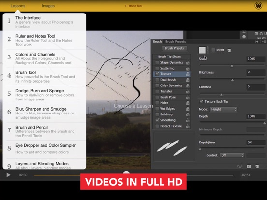 Course for Adobe PHOTOSHOP CC for iPad | App Price Drops