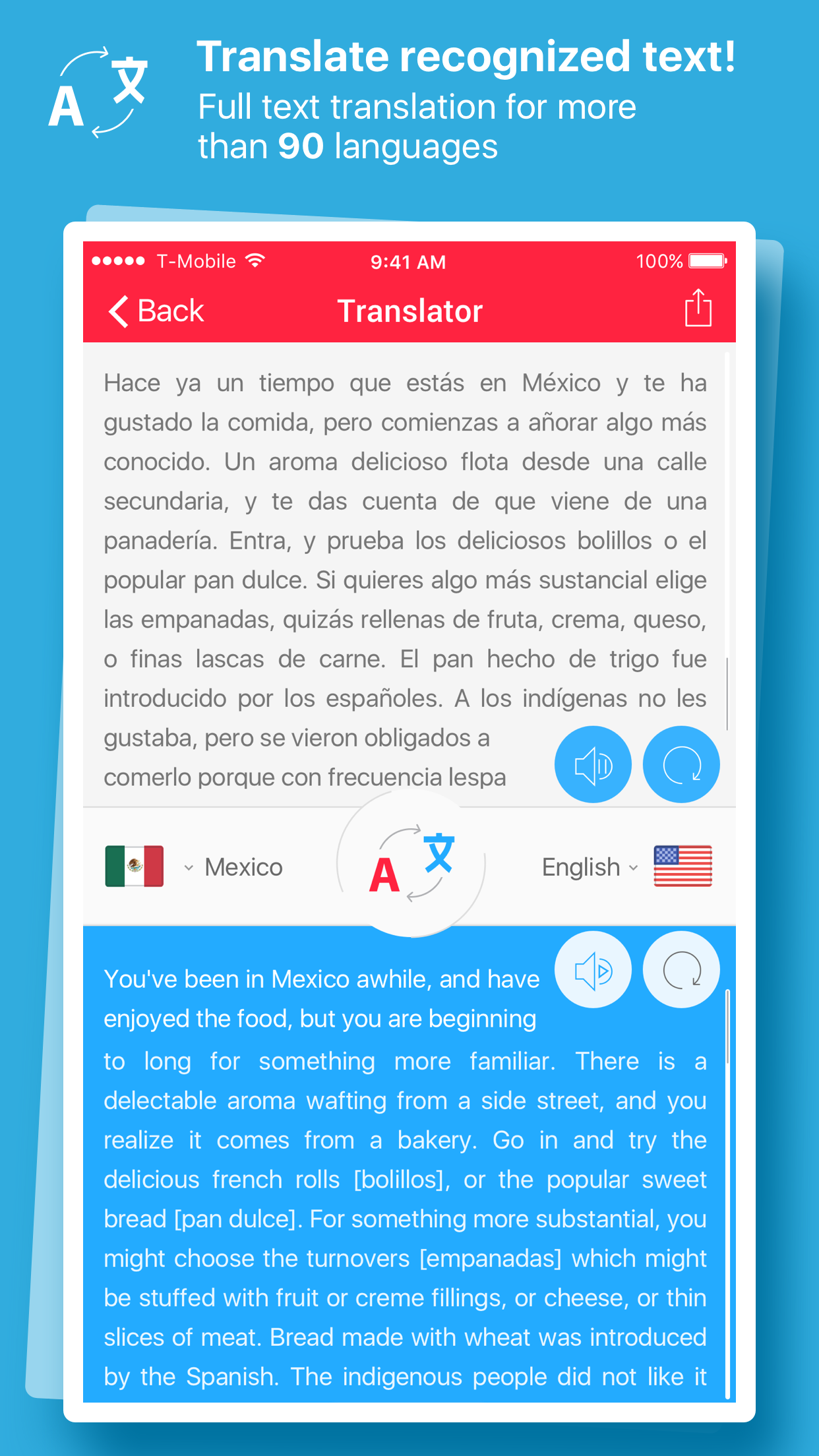 Scan & Translate+ - ocr Image scanner & translator Screenshot