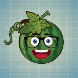 Sticker Me: Cool Watermelon