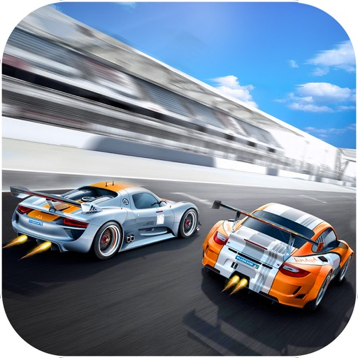 Airborne Car Race : New Free Racing Mania 2016 icon