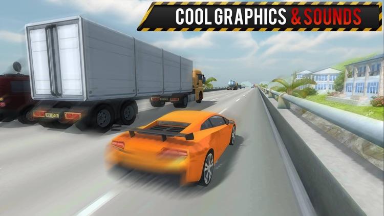 City Traffic Car Racing - Fast 3D Driving screenshot-3