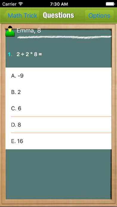 Math Tricks For Kids screenshot four