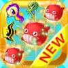 Charm Fish Hero - New Best Super Match 3 Kingdom