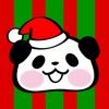 パンダぁー クリスマス ステッカー for iMessage