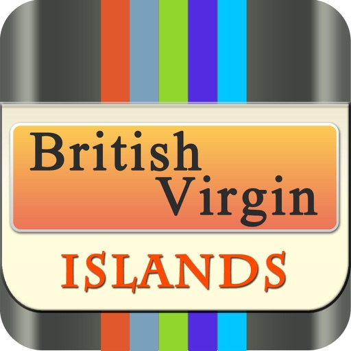 British Virgin Island Offline Map Travel Explorer