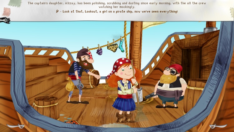 Alizay, pirate girl screenshot-3