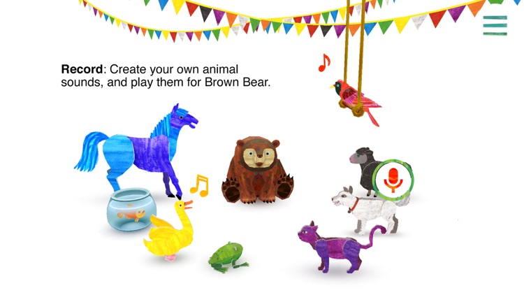 Eric Carle's Brown Bear Animal Parade screenshot-4