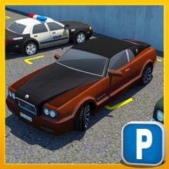 Multi-Level Sports Car Parking Simulator 3D Game
