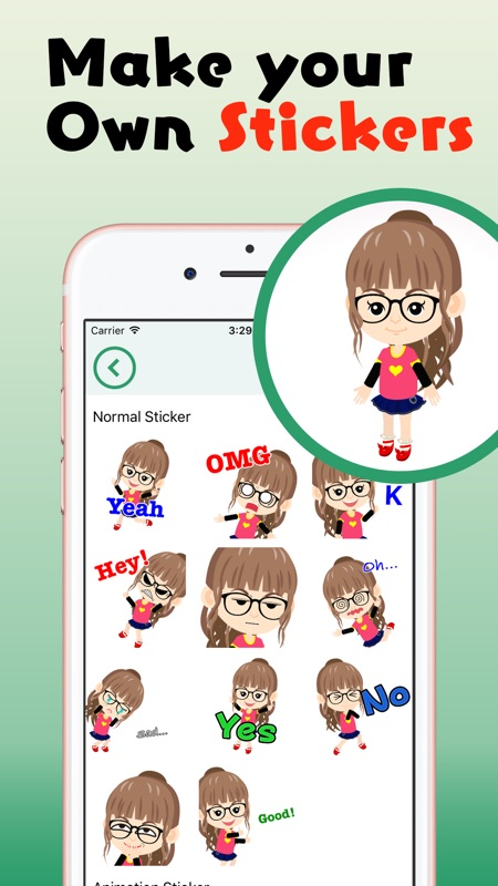 Eclair - Make your own sticker - Online Game Hack and Cheat
