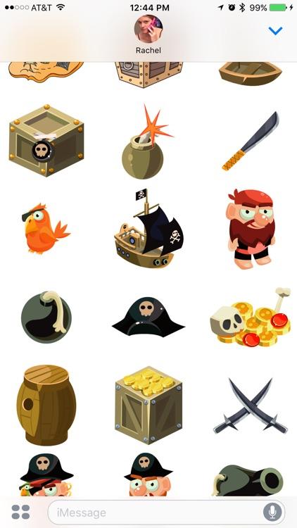Pirate Stickers screenshot-3