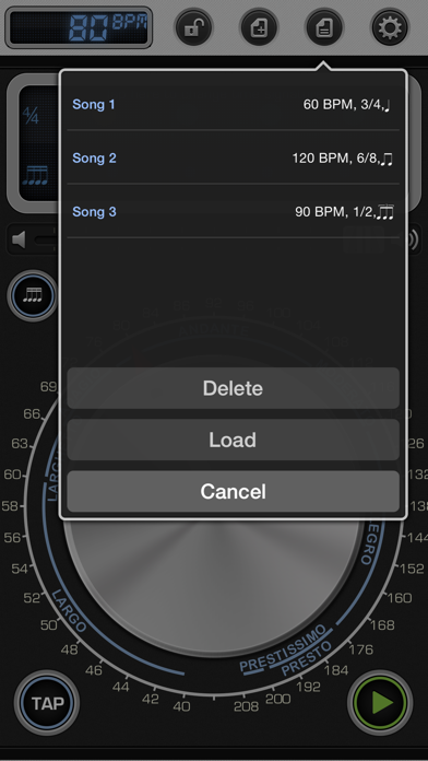 Metronome 9 - Tempo & Setlists iOS Application Version 4 5 2