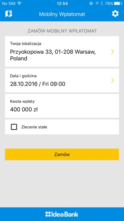 Mobilny Wpłatomat Idea Bank SA screenshot-3