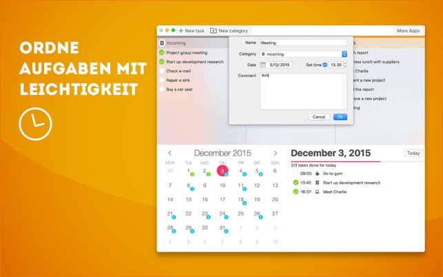 Plan Your Tasks - Aufgabenliste Screenshot