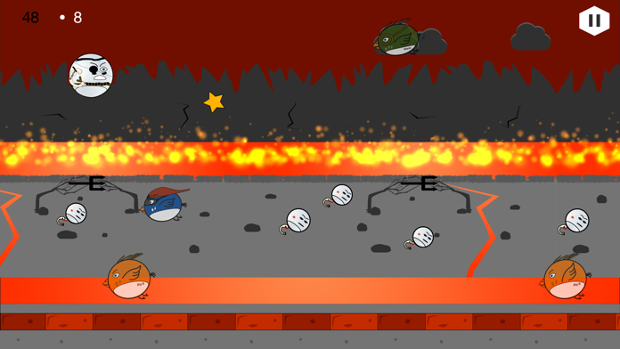 Angry Flappies Screenshot