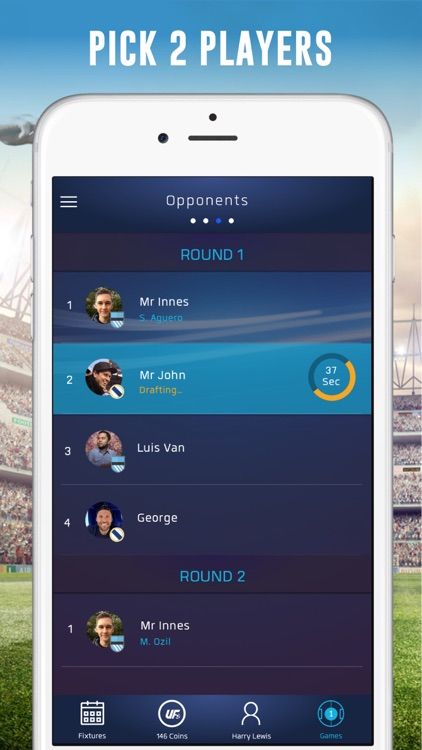 UFL - Real-time Fantasy Soccer