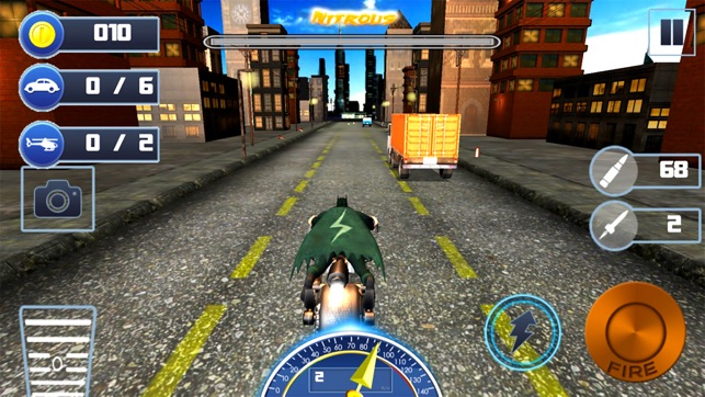 City Bike Shooter 3D Screenshot