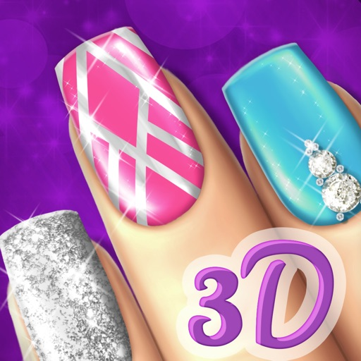 Cute Nail Art Designs Games For Girls: Beauty Nail Design Game.s: Cute Art Makeover Salon By
