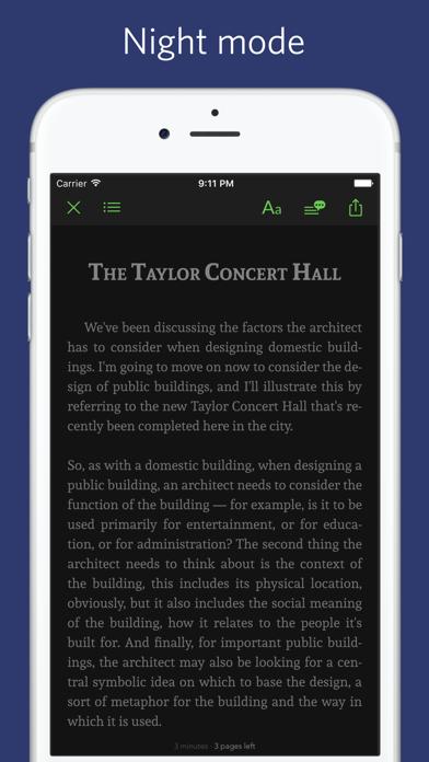 IELTS listening - synced transcript Screenshot 4