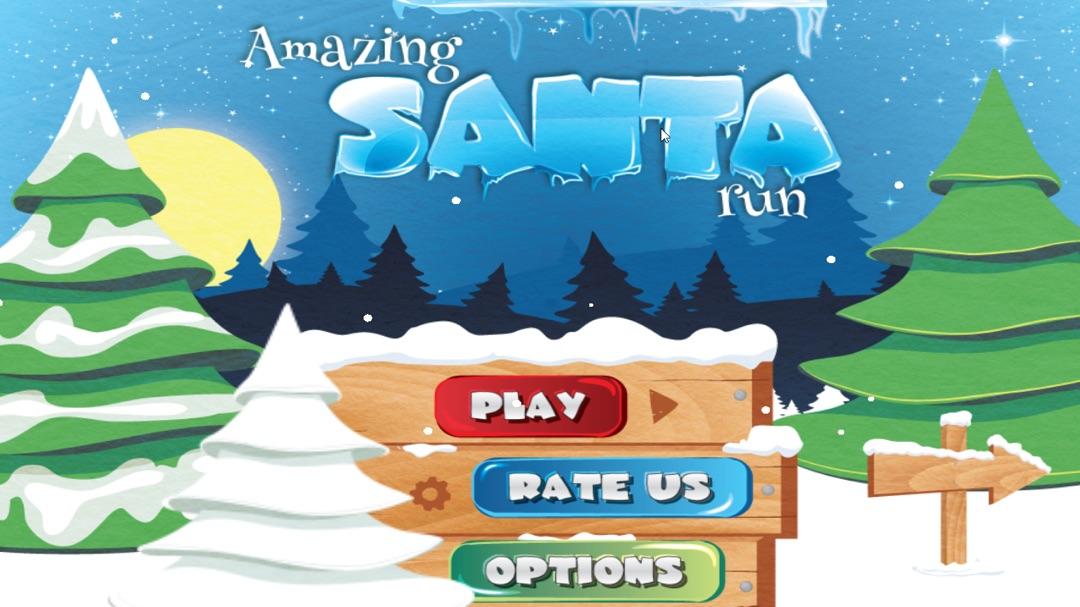 amazing santa run christmas game for kid - Christmas Games For Toddlers
