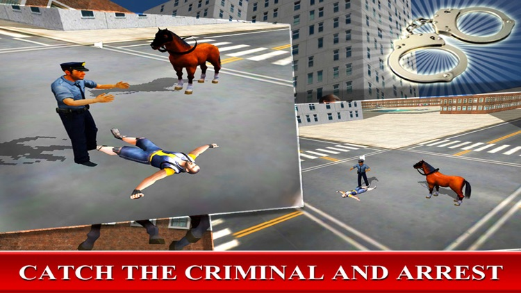 Police Horse - Criminal Chase Simulator screenshot-3