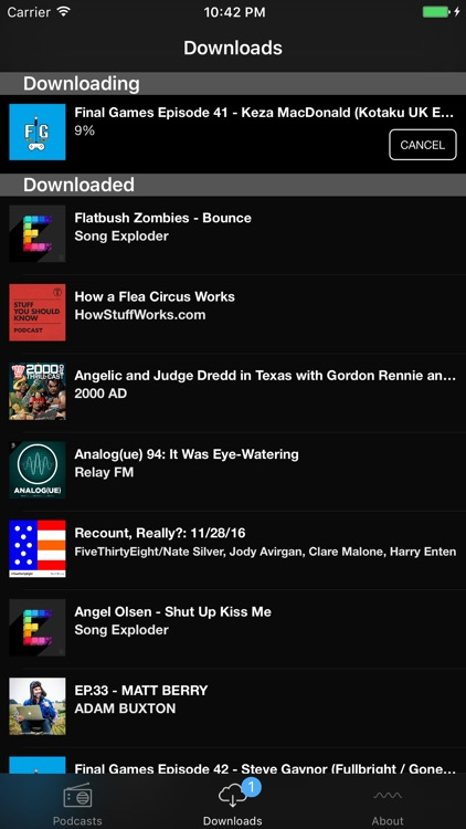 Sndcast - Podcast player