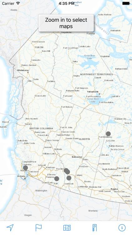 Topo Maps Canada screenshot-3