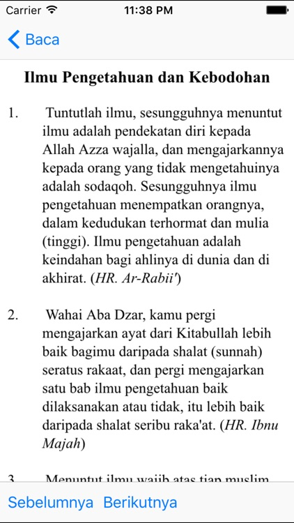 Hadith Pack - English Indonesia screenshot-4