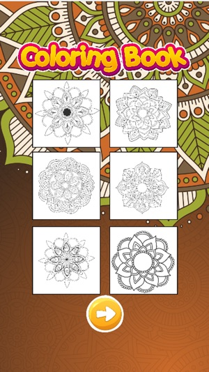 Mandala Coloring Books Color Therapy for Adults on the App Store