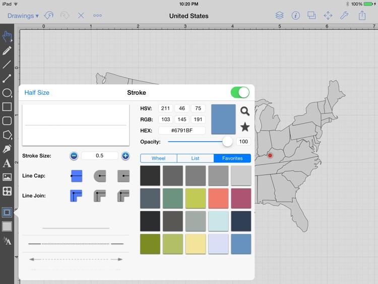 TouchDraw screenshot-4